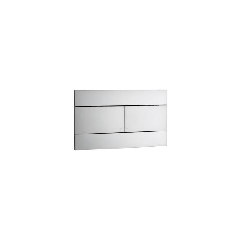 Ideal Standard Mechanical Flush Plate Slim VV659 Satin Chrome