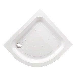 Just Trays Ultracast 1000mm Quadrant Shower Tray 2 Upstands