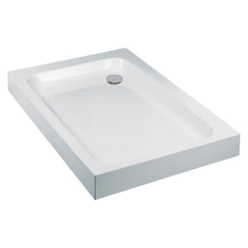 Just Trays Ultracast 1200x1000mm Rectangular Shower Tray