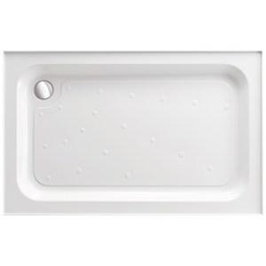 Just Trays Merlin 1200x760mm Rectangular Shower Tray 4 Upstands