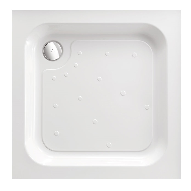 Just Trays Merlin 760mm Square Shower Tray
