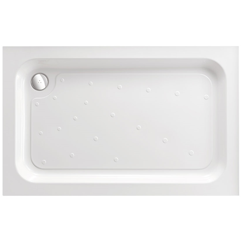 Just Trays Merlin 1200x700mm Rectangular Shower Tray Anti-Slip