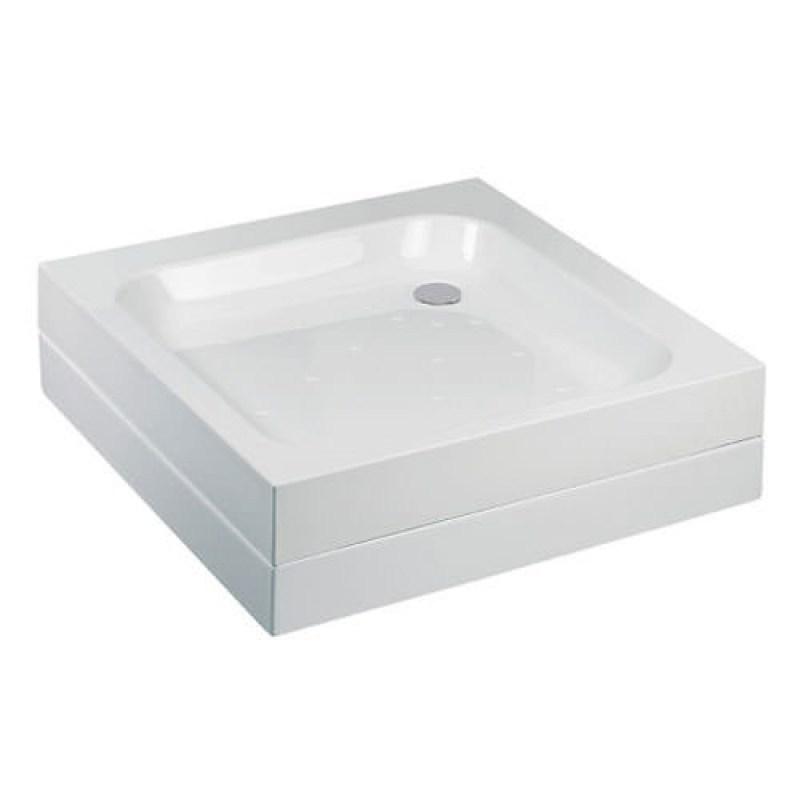 Just Trays Merlin 700mm Square Shower Tray Anti-Slip