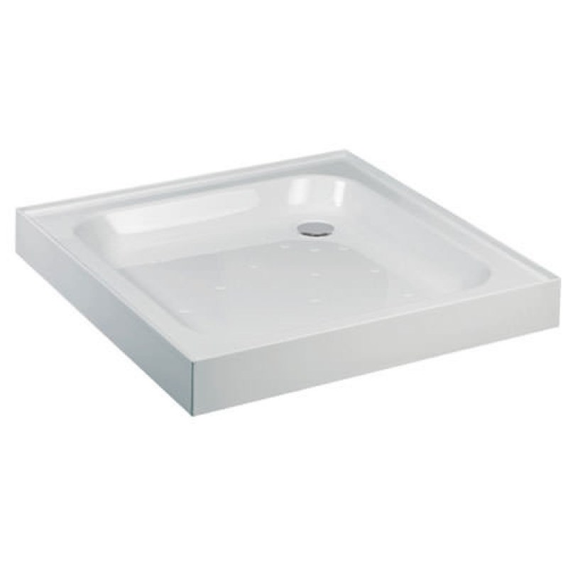 Just Trays Ultracast 800mm Square Tray 4 Upstands Anti-Slip