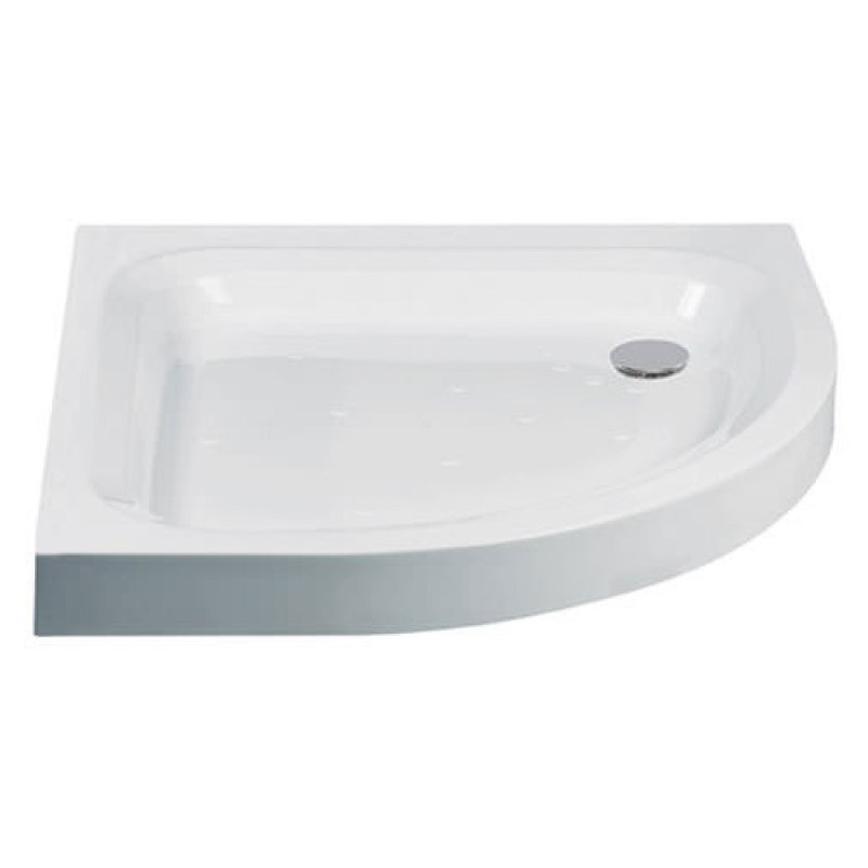 Just Trays Ultracast 800mm Quadrant Shower Tray Anti-Slip