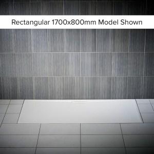 Just Trays Evolved Anti-Slip 1200x800mm Rectangular Shower Tray