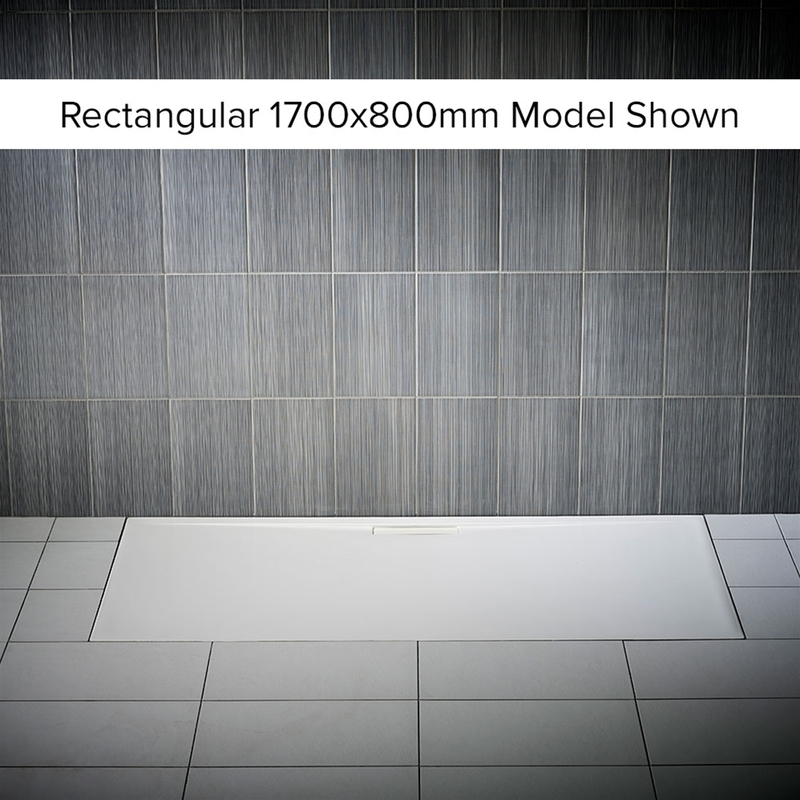 Just Trays Evolved Anti-Slip 760mm Square Shower Tray