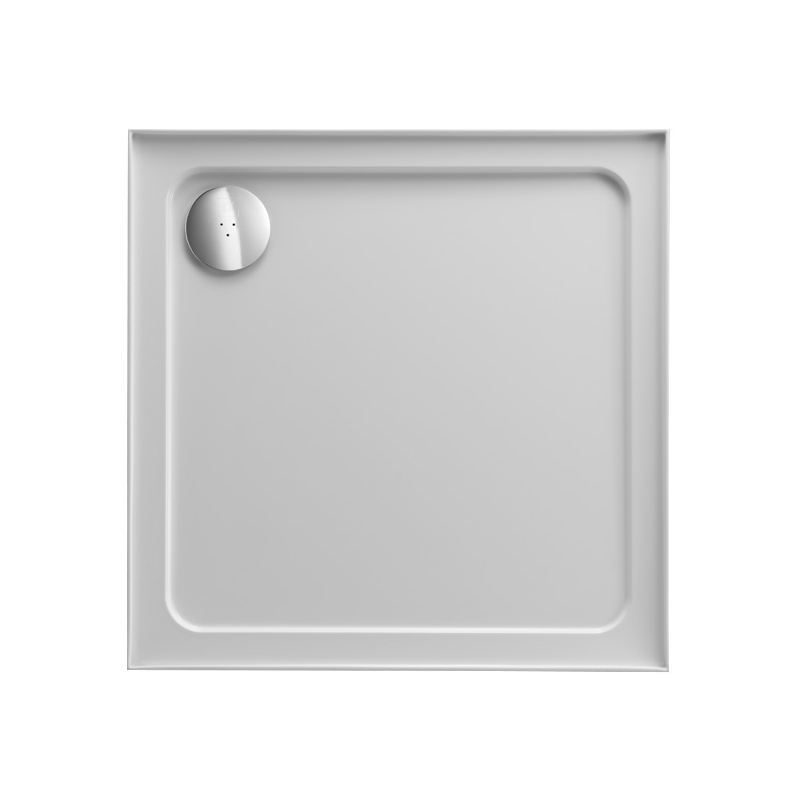 Just Trays Fusion 800mm Square Shower Tray 4 Upstands Anti-Slip