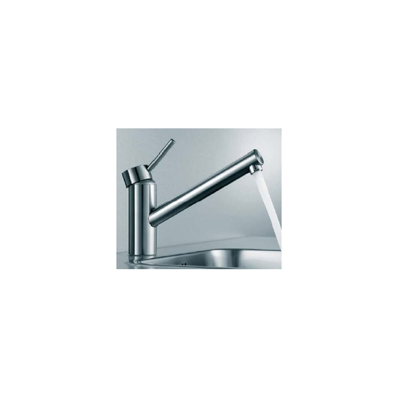 KWC Inox Mono Sink Mixer with Swivel Spout Stainless Steel
