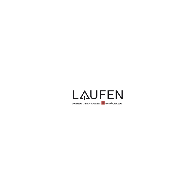 Laufen Wall Shower Arm 420mm with Square Plate