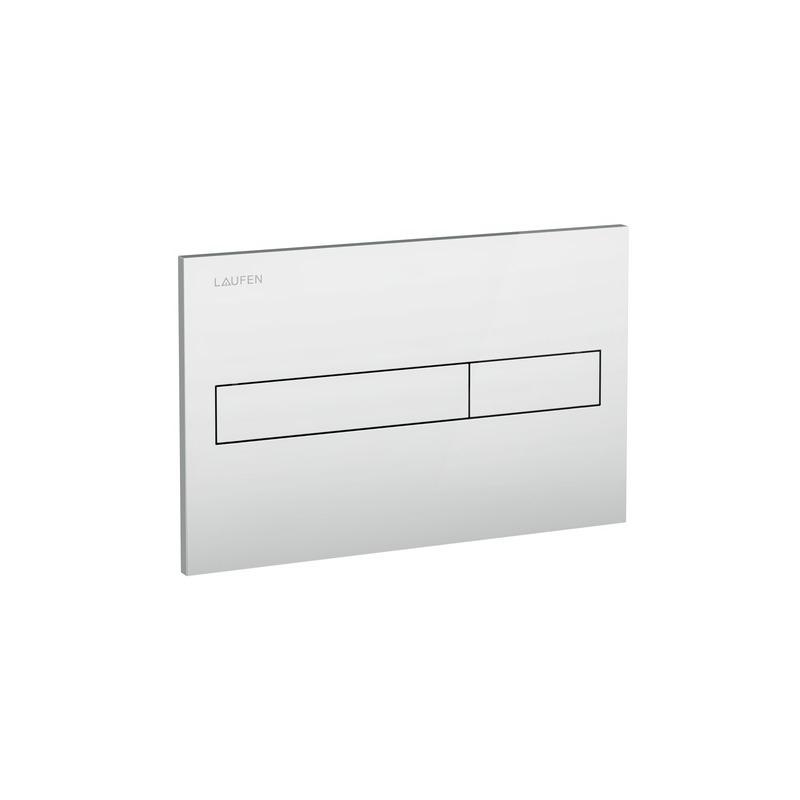 Laufen Duplo/Basin Dual Flush Plate Matt Chrome