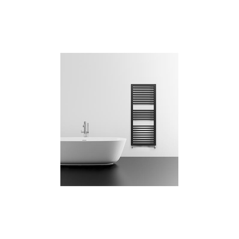 Lazzarini Asti 1228x500mm Anthracite Towel Warmer