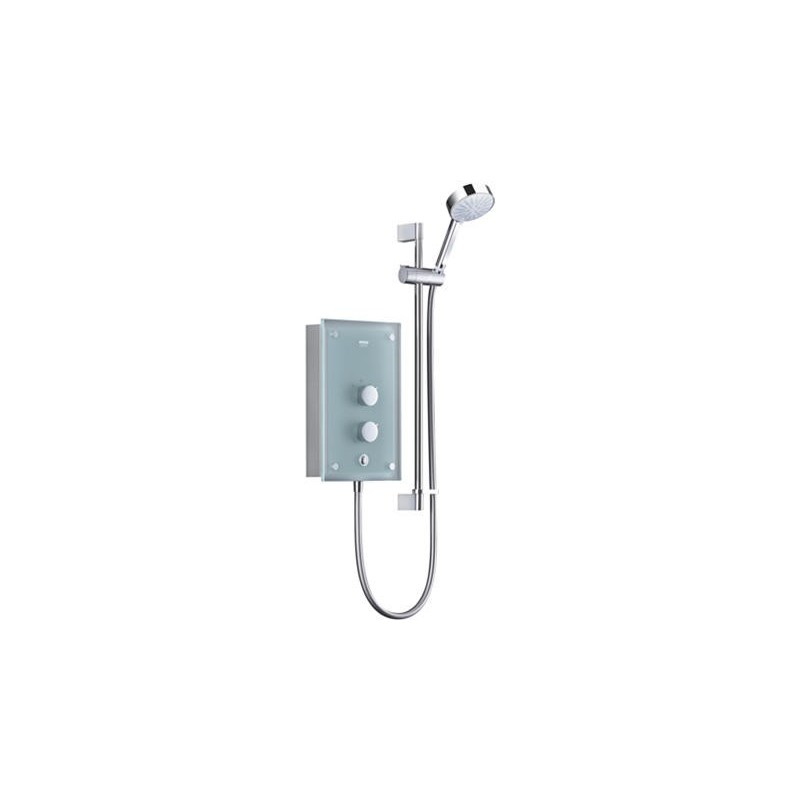 Mira Azora Electric Shower 9.8kW Frosted Glass