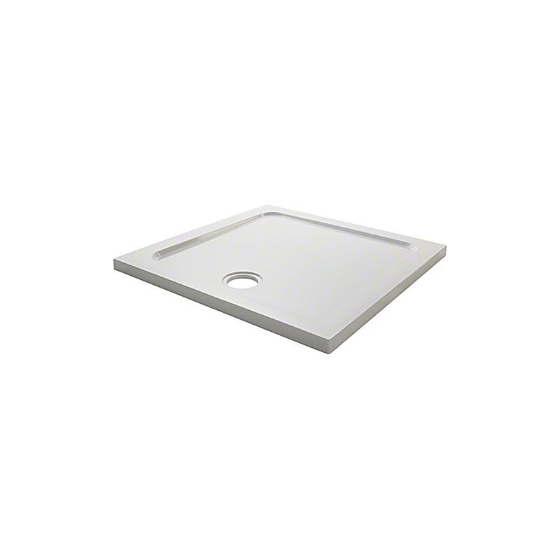 Mira Flight Low Square 900x900 2 Upstands Shower Tray