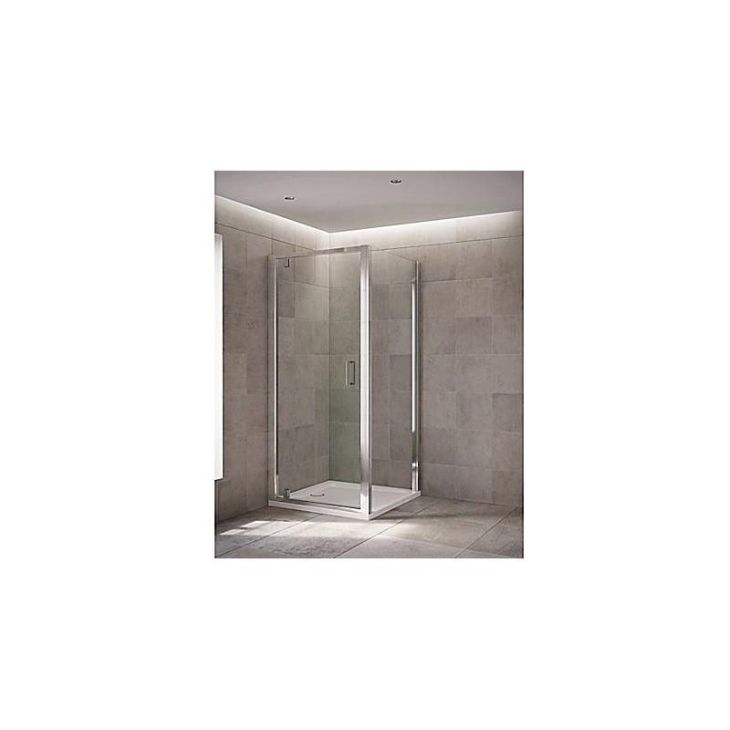 Mira Leap Pivot Door 760mm Silver