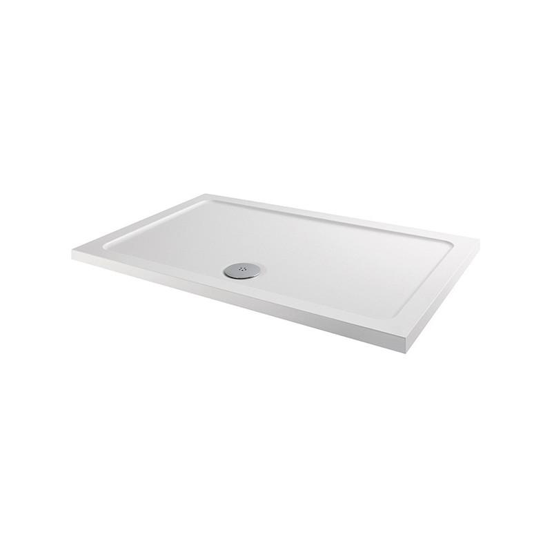 MX Elements 800 x 700mm Rectangular Anti-Slip Shower Tray