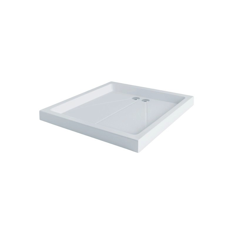 MX Classic 1200 x 1200mm Shower Tray & 50mm Waste