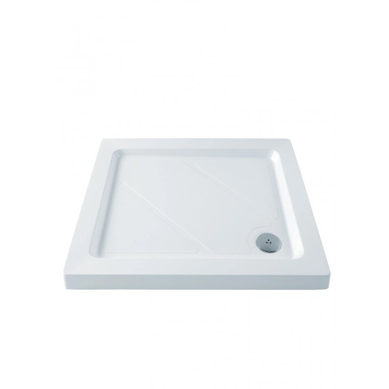 MX Classic 900 x 800mm Shower Tray & 50mm Waste