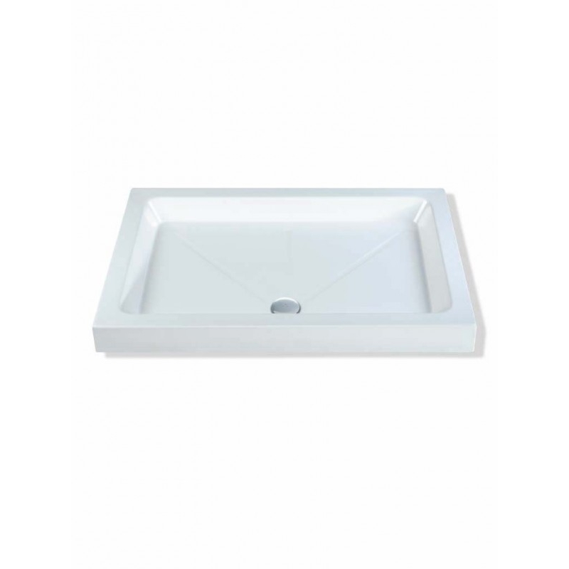 MX Classic 1200 x 700mm Shower Tray & 50mm Waste