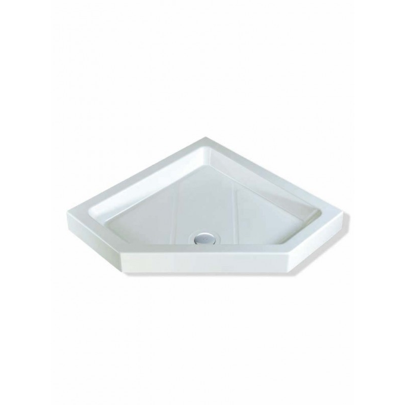 MX Classic Neo Angle 1000mm Shower Tray & 50mm Waste