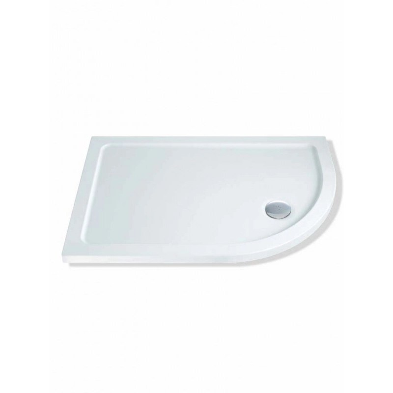 MX Elements 1300 x 760mm Offset Quadrant Right Hand Shower Tray