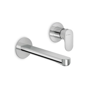 Newform Linfa Wall Basin Mixer without Waste Chrome