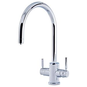 Perrin & Rowe Phoenix 3-In-1 Instant Hot Water Tap, C-Spout
