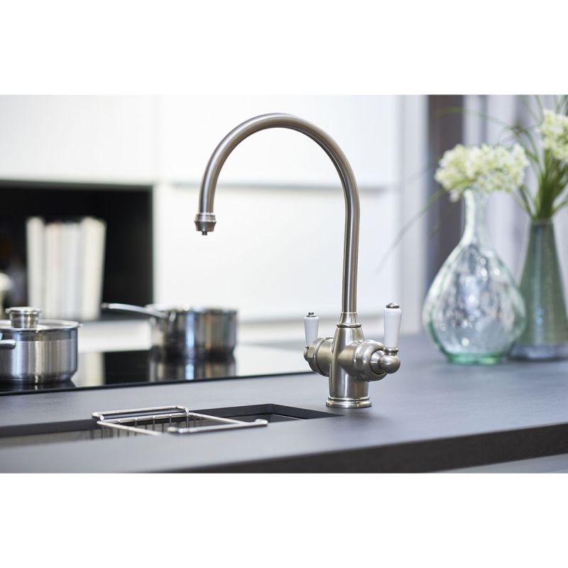 Perrin & Rowe Polaris 3-In-1 Instant Hot Water Tap