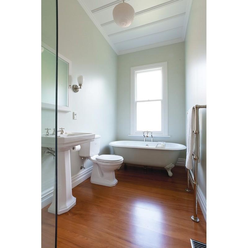 Perrin & Rowe Bath Filler Crosshead Handles & Floor Legs Pewter