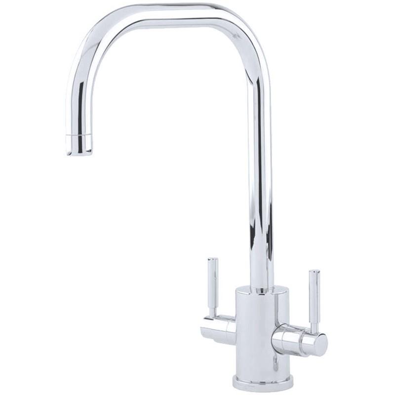 Perrin & Rowe Orbiq Sink Mixer with U Spout Chrome