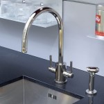 Perrin & Rowe Orbiq Sink Mixer with C Spout & Rinse Chrome
