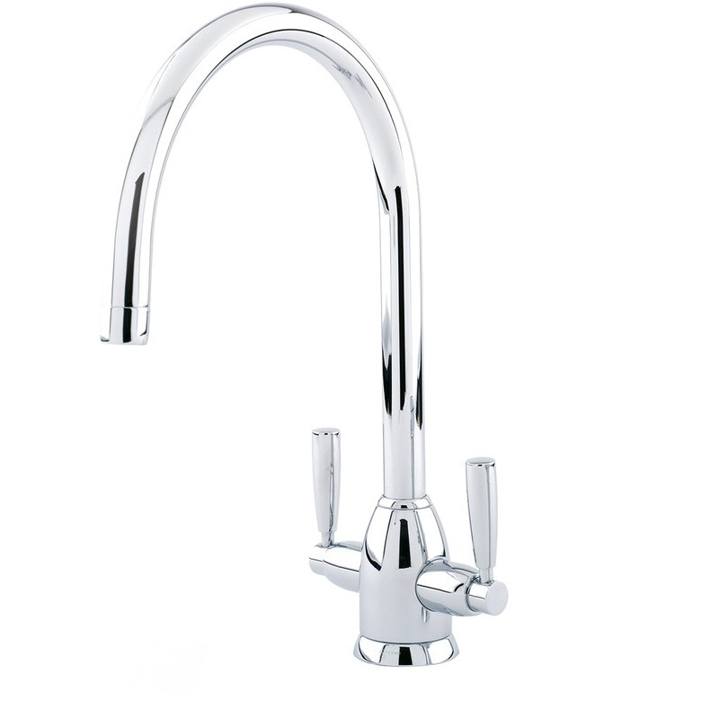 Perrin & Rowe Oberon Sink Mixer with C Spout Nickel