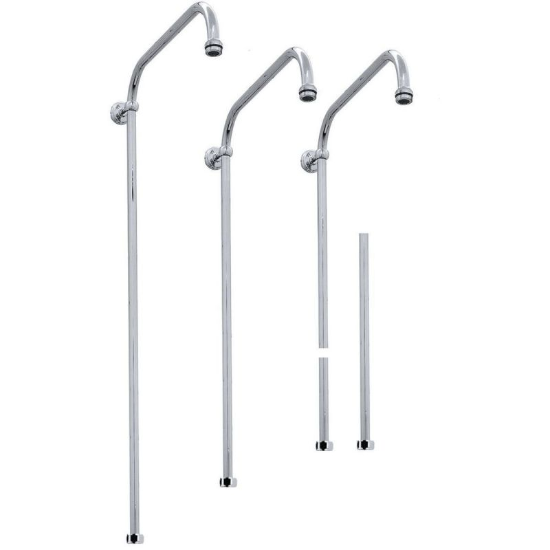 Perrin & Rowe Fixed Riser 1600 x 400mm Pewter