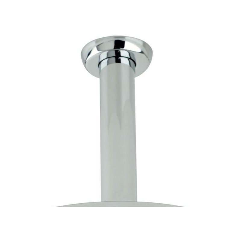 Perrin & Rowe Contemporary Ceiling Shower Outlet Nickel