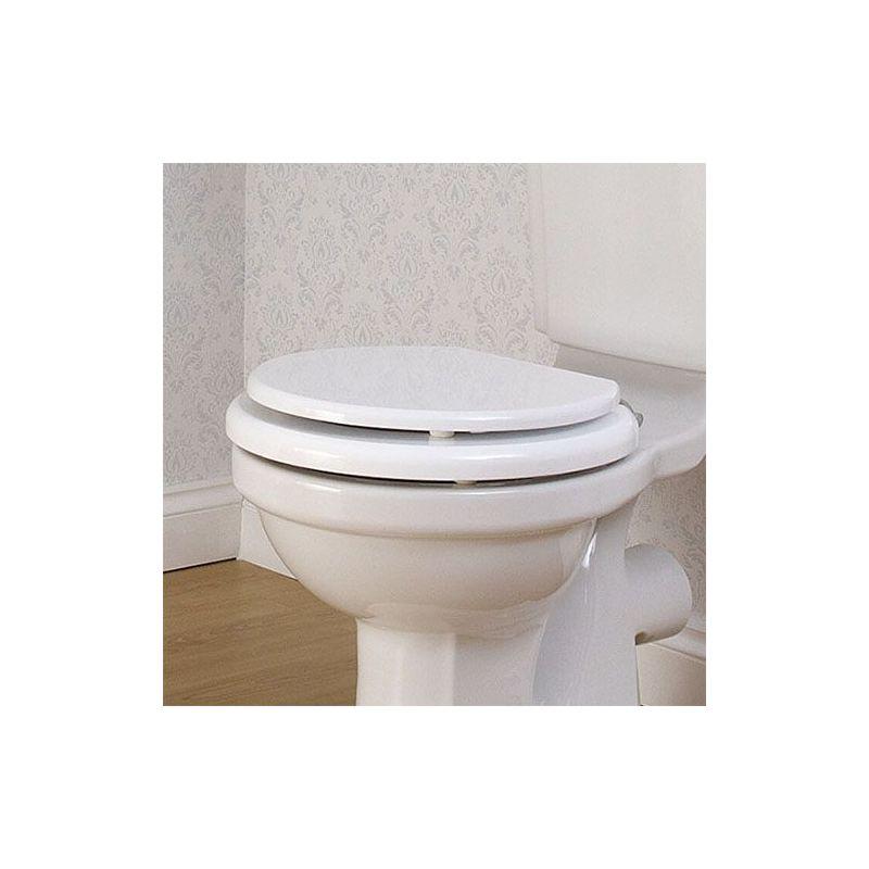 Perrin & Rowe White WC Seat