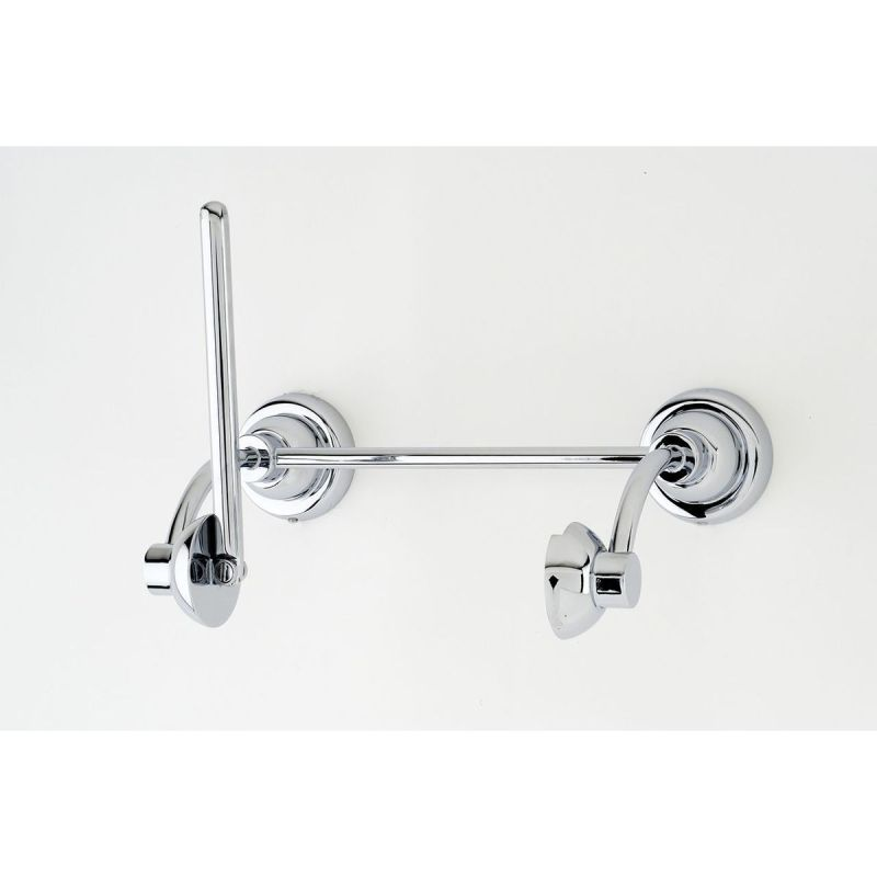 Perrin & Rowe Toilet Roll Holder with Pivot Bar Chrome