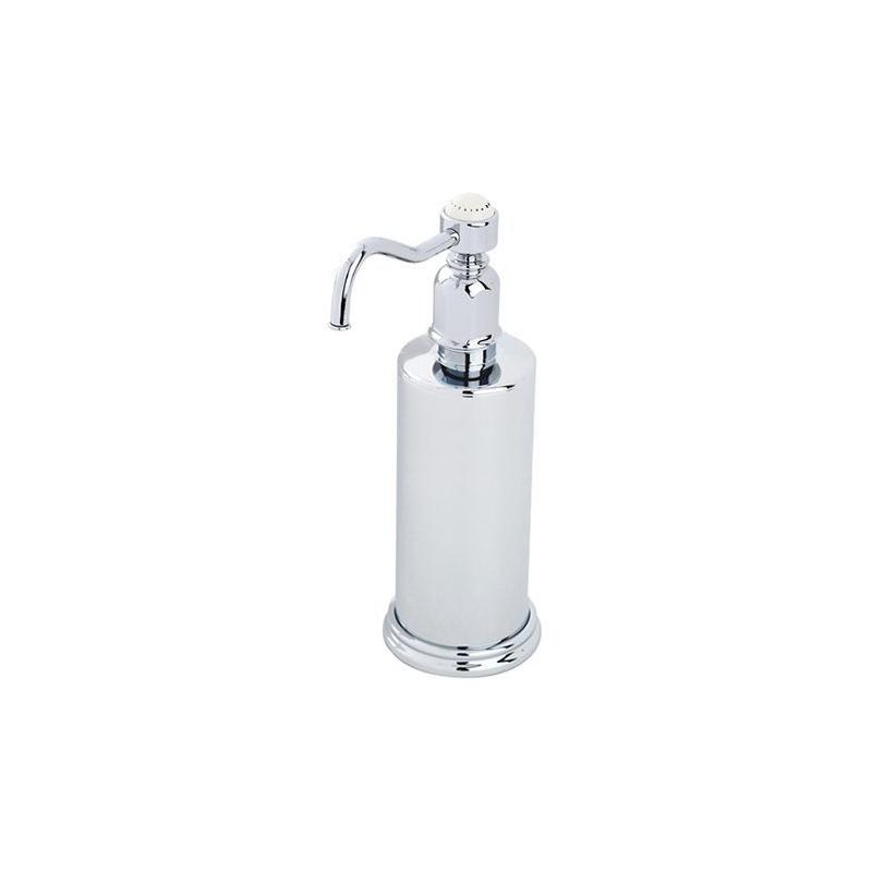 Perrin & Rowe Freestanding Soap Dispenser Pewter