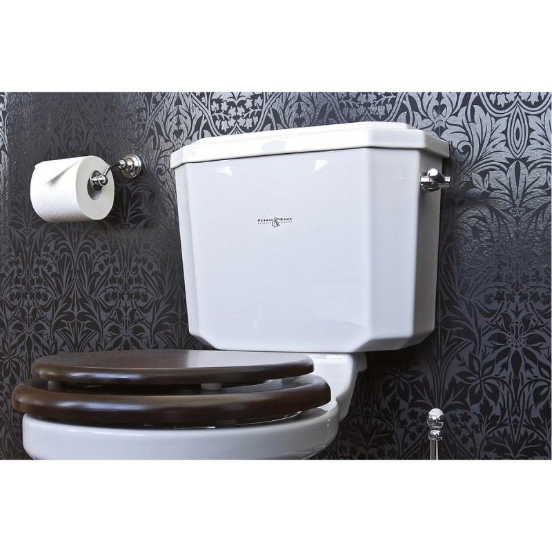 Perrin & Rowe Pivot Bar Toilet Roll Holder Nickel