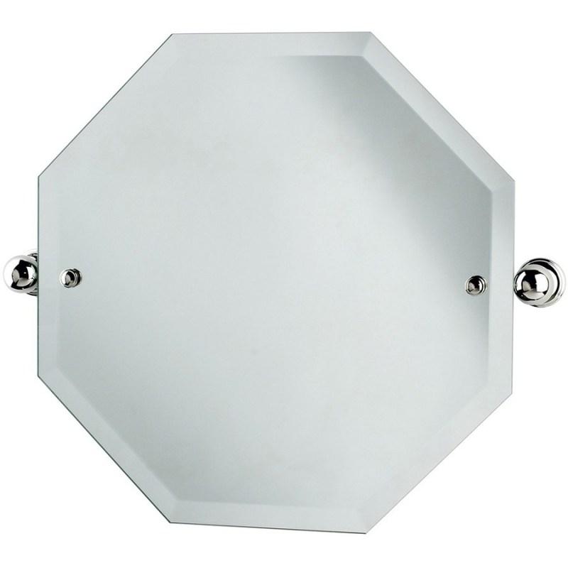 Perrin & Rowe Octagonal Mirror 500mm x 500mm Gold