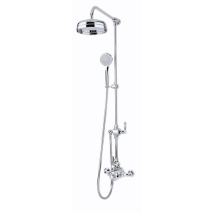 Perrin & Rowe Contemporary Shower Set A One Nickel