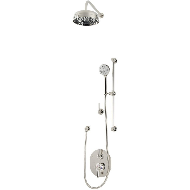 Perrin & Rowe Contemporary Shower Set B One Pewter