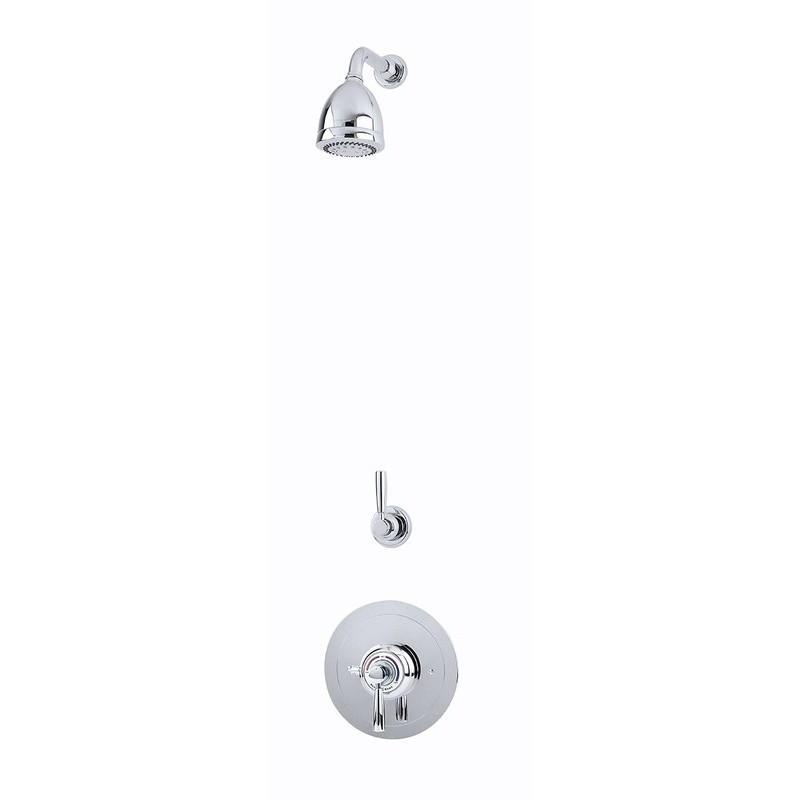 Perrin & Rowe Contemporary Shower Set C Two Nickel