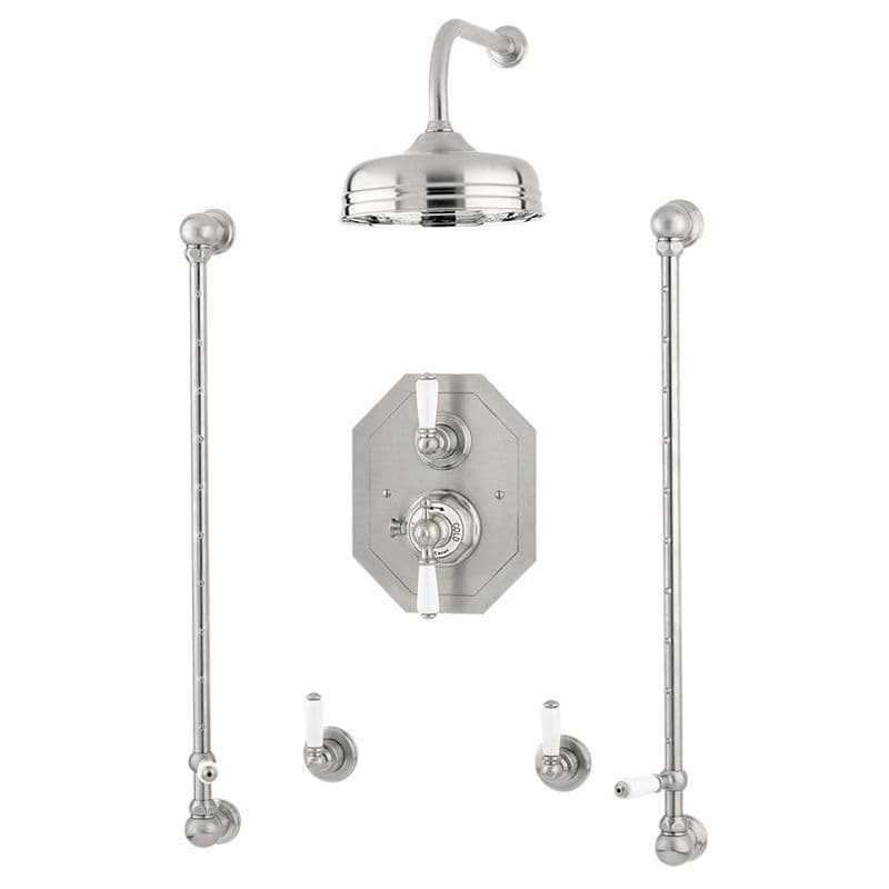 Perrin & Rowe Traditional Shower Set 5 Chrome