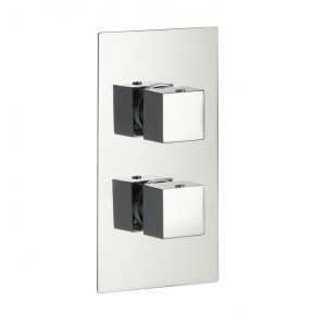 Pura Bloque2 Single Outlet Two Handle Concealed Shower Valve