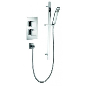Pura Bloque2 Single Outlet Concealed Valve with Str8 Head & Kit