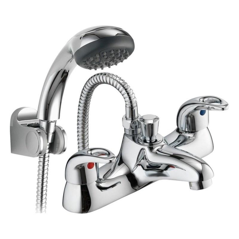 Pura Dv8 Bath/Shower Mixer with Shower Kit