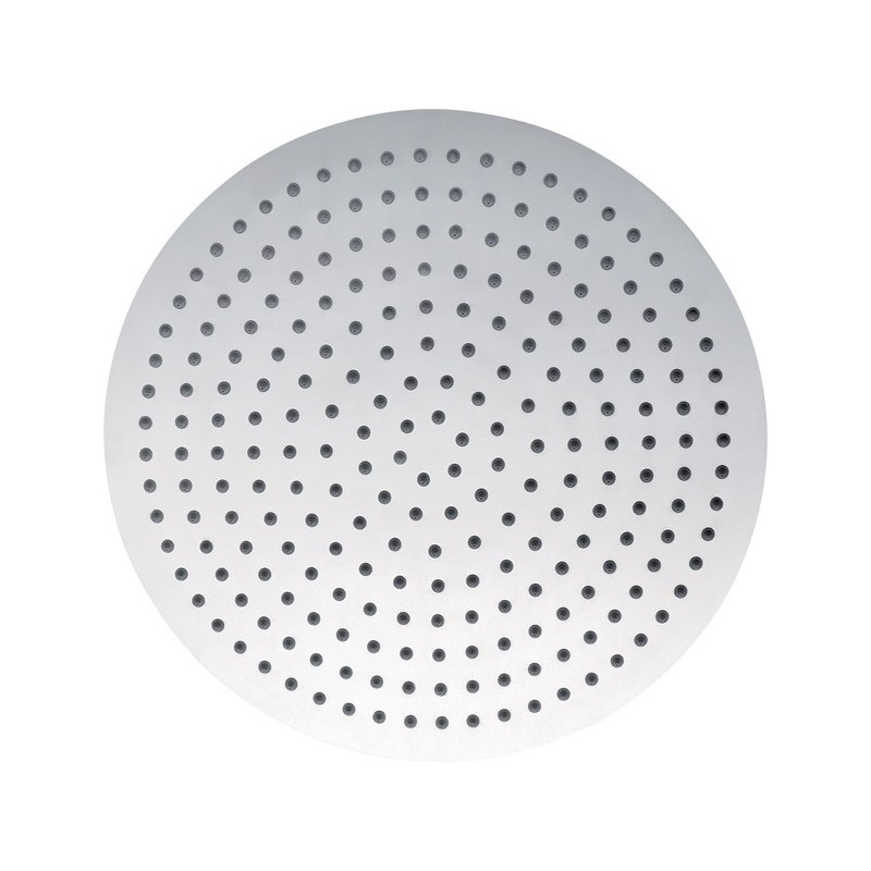Pura Slimline Stainless Steel Round 400mm Shower Head