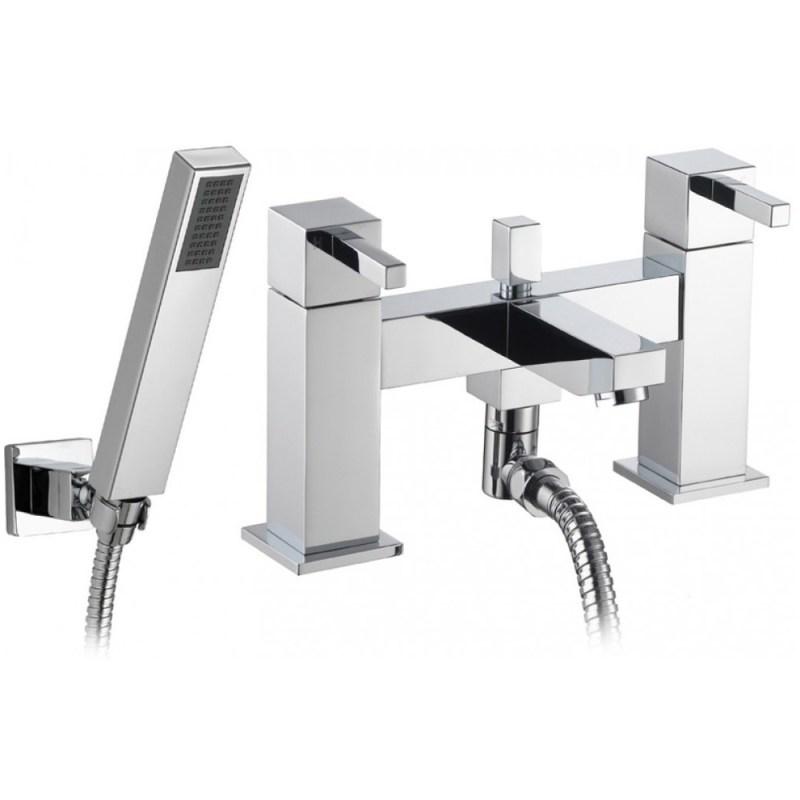 Pura Sq2 Bath/Shower Mixer with Kit