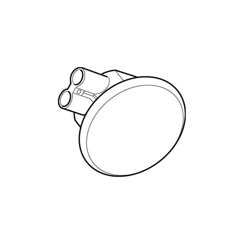 Rada Pulse 125 Single Urinal Ceiling Infra-Red Sensor White