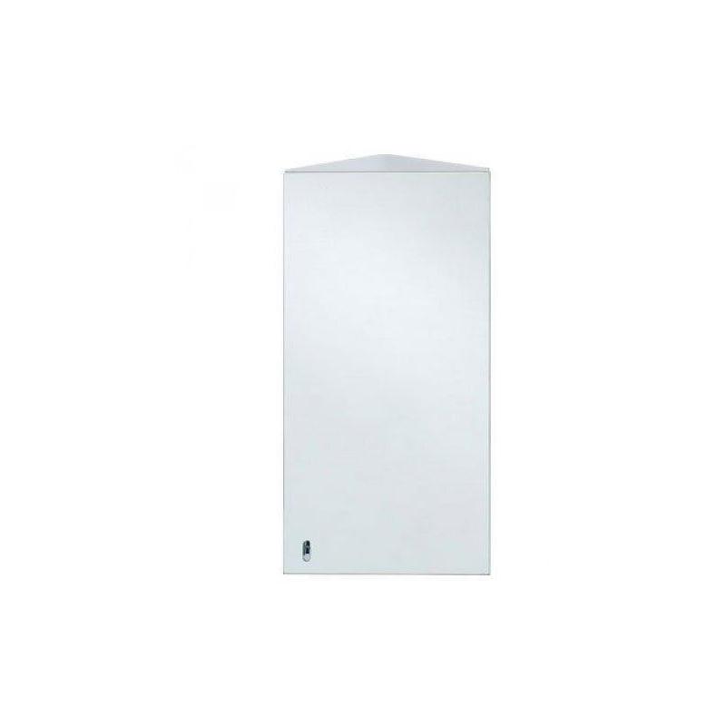 RAK Riva Stainless Steel Single Corner Cabinet with Mirrored Door